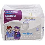 Uphealthy Adult Pull Up Diapers/Pants/Brief, XL, 120-160cm