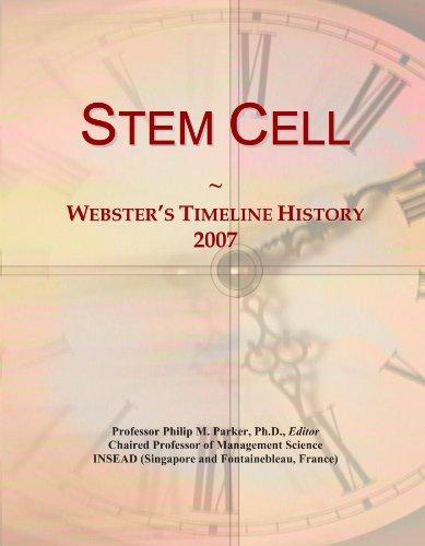 Stem Cell: Webster's Timeline History, 2007 ()