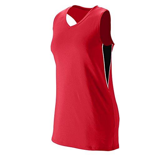 Augusta Sportswear Women's Inferno Jersey 2XL Red/Black/White
