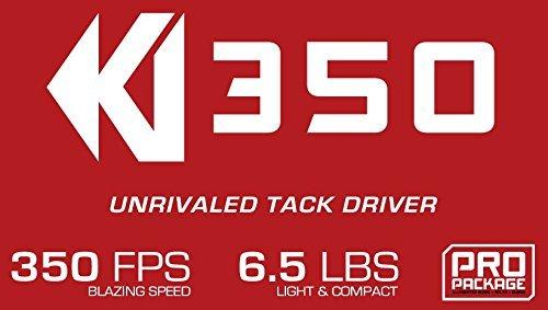 KI350 - High Performance Crossbow - Includes KI LUMIX Scope, 3 Bolts, Quiver, and Deadening String Suppressors - 3.5 lb RTT Trigger by Killer Instinct (Image #2)