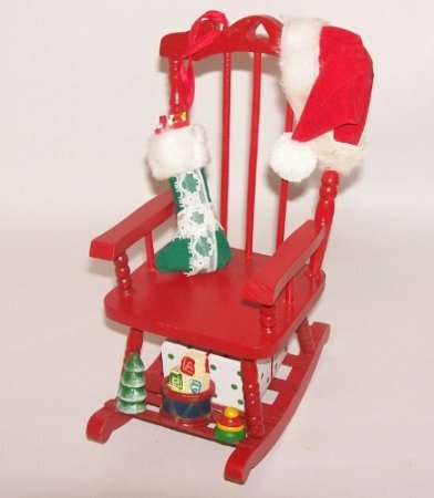 Musical and Rocking Christmas Chair