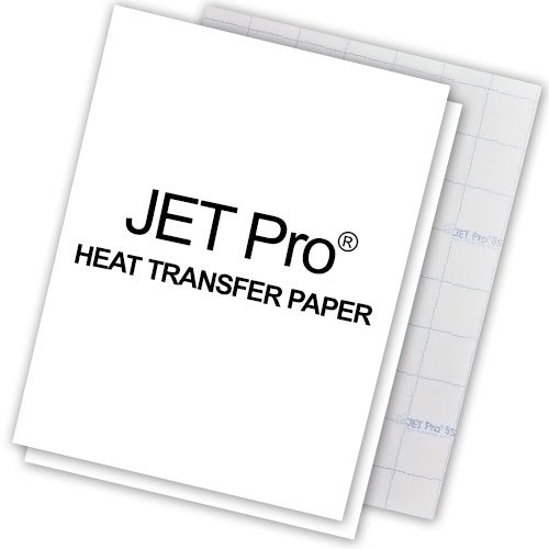 Transfer Paper Jet Pro (10 Pcs) Light Colors *** F, used for sale  Delivered anywhere in Canada
