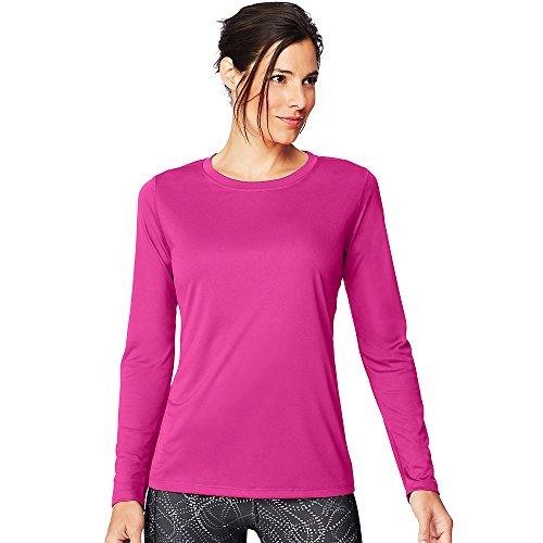 Hanes by Sport Cool DRI Women's Performance Long-Sleeve T-Shirt ()