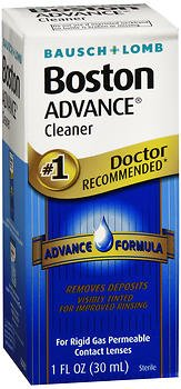 Advance Cleanser (Bausch & Lomb Boston Advance Cleaner 1 oz (Pack of 2))