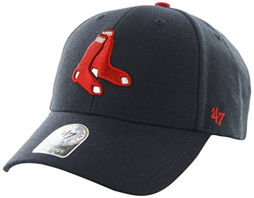 '47 MLB Boston Red Sox Juke MVP Adjustable Hat, Navy-Alternate, One Size