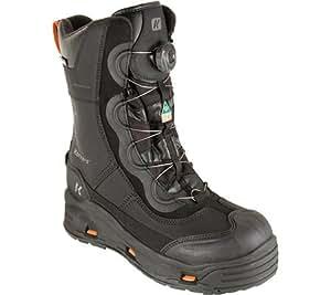 Korkers Men's IceJack Pro Safety Boot,Black,US 13 M