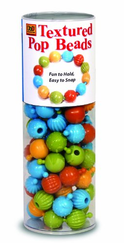 Price comparison product image Pencil Grip Pop Beads,  Tactile Awareness Development,  DBD-965,  100 Count Tube