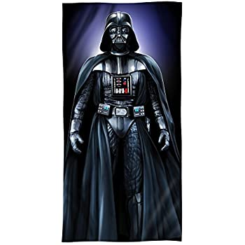 Disney Fiber Reactive Beach Towel 30x60 inches - Star Wars Ultimate Vader - by SL Home Design