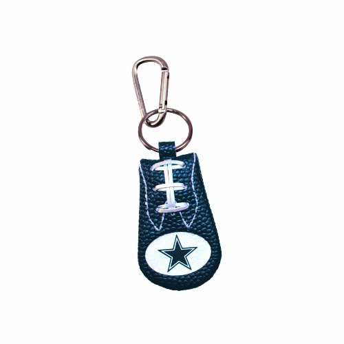 Dallas Cowboys Team Color NFL Football Keychain