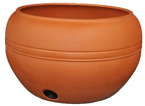 Tusco Products HP01TC Hose Pot, 20-Inch, Terra Cotta