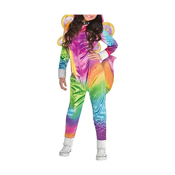 Suit Yourself Felicity Halloween Costume for Girls, Rainbow Kitty Unicorn, Includes Accessories 6