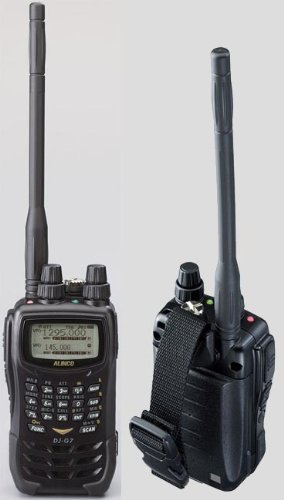 Alinco DJ-G7 FM Tri-band Handheld Transceiver