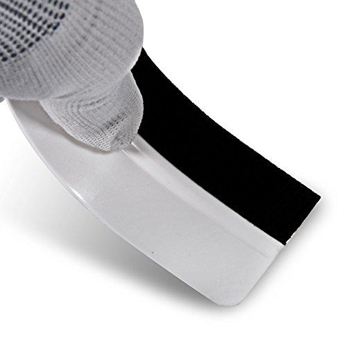 Ehdis 10PCS Soft Vinyl Wrap Tool Mini Window Tint Film Installing Squeegee Vinyl Film Applicator Scraper for Vinyl Wraps & Decals with Black Fabric Felt by Ehdis (Image #7)