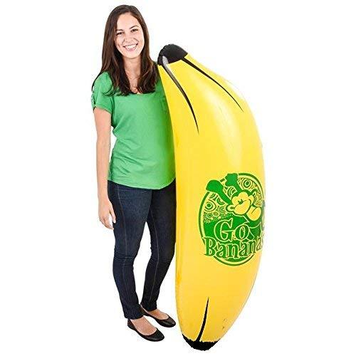Kicko 65 Inch Monkey Banana Inflatable - Fast