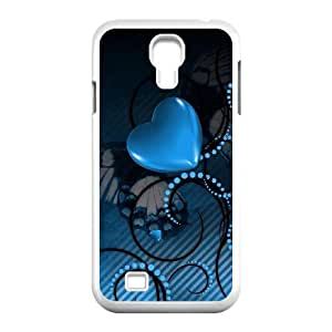 QWSPY Loving Heart Phone Case For Samsung Galaxy S4 i9500 [Pattern-2]