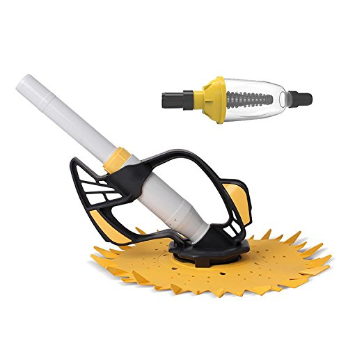 Kokido Dipper Automatic Hydraulic Above Ground Pool Cleaner w/Leaf Canister (Leaf Standard Canister)