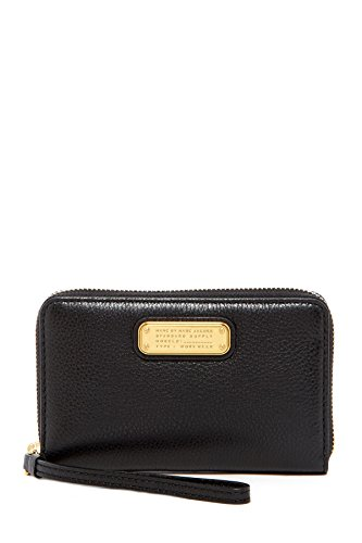 Marc by Marc Jacobs New Q Wingman Small Leather Wristlet Wallet, - For Wallet Marc Men Jacobs