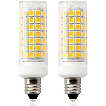 e11 led light bulb dimmable 8 5w 100w halogen bulbs replacement mini candelabra base 110v. Black Bedroom Furniture Sets. Home Design Ideas