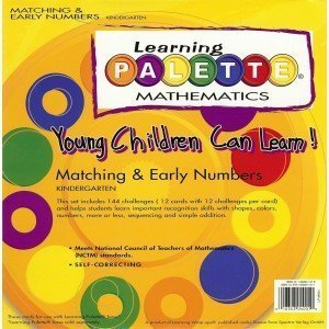 Palette Learning - Kindergarten Math Learning Palette Numeration K.1 Early Numbers