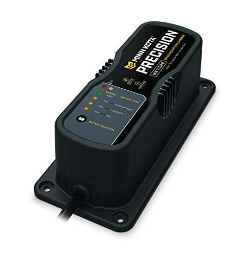 Minn Kota 1831060 MK 106PC On-Board Precision Digital Battery Charger (1 Bank x 6 Amp)