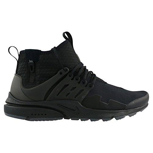 Nike Mens Air Presto Mid Utility Shoes Black/Black 859524-006 Size 11 (Nike Sticky Shoes)