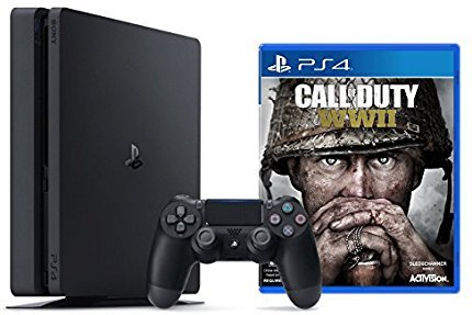Playstation 4 Slim 1TB Console + Call of Duty : WWII Bundle ( 2 – Items )
