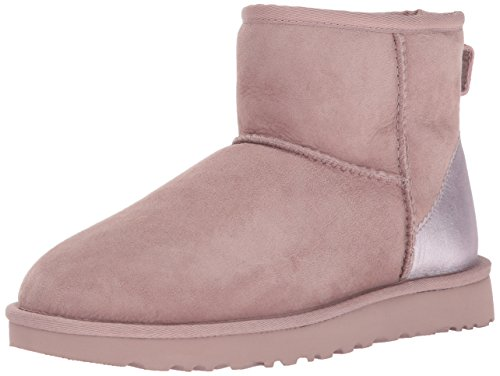 Women's Booties Ii Rose Pink Metallic Mini Ugg Classic RdOqR7
