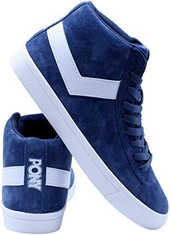 Pony Mens Classic High Leather Sneakers