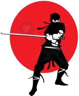 Ninja postura Samurai - Tatuajes temporales por temptatz ...