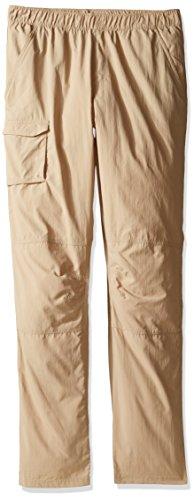 Columbia Boy's Silver Ridge Pull-on Pant, British Tan, X-Large