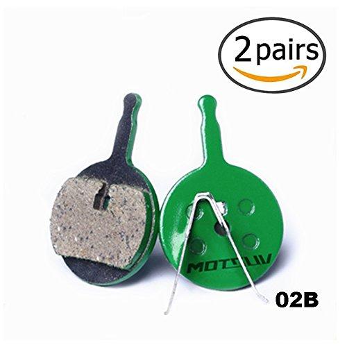 DEERU Bike Ceramics Disc Brake Pads for MTB Hydraulic Disc Brake SHIMAN0 SRAM AVID Hayes TEKTRO Magura Formula Bicycle Pads 2 Pairs - -