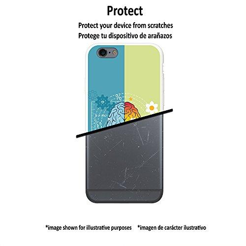 WoowCase Hülle Case für [ iPhone 7 ] Handy Cover Schutzhülle Gehirn