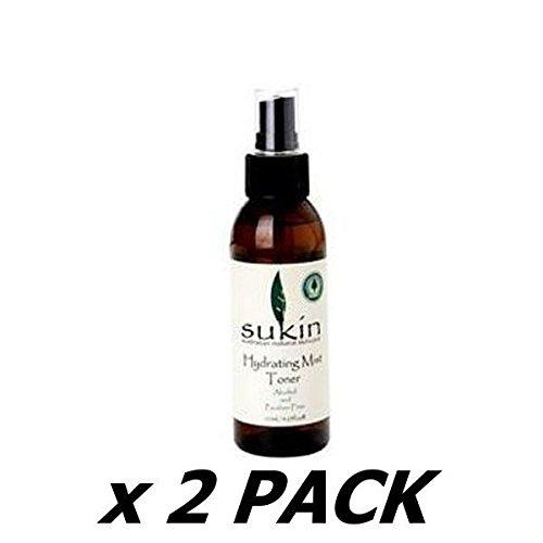 SUKIN Hydrating Mist Toner Spray 125ml (2 Pack)
