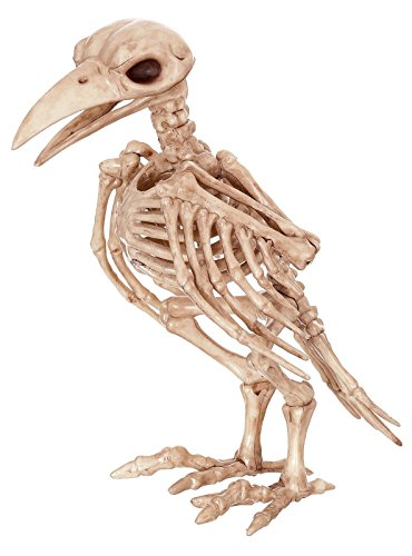 Halloween Skeletons (Crazy Bonez Skeleton Raven)
