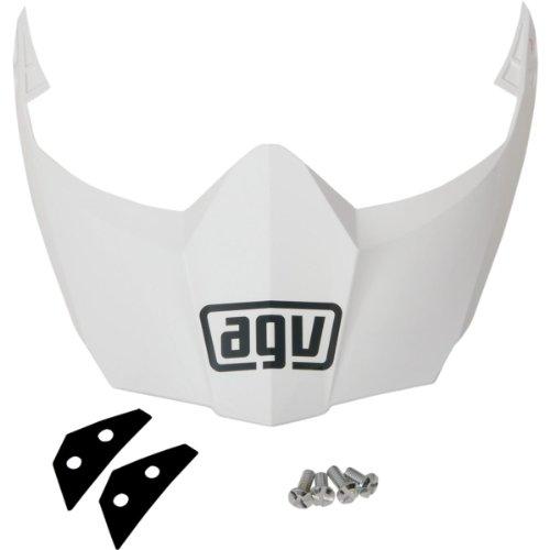 Agv Sport (AGV Helmet Visor for AX-8 Dual Sport/EVO - White KIT76109001)