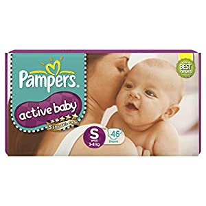 Pampers Active Baby Small Size...