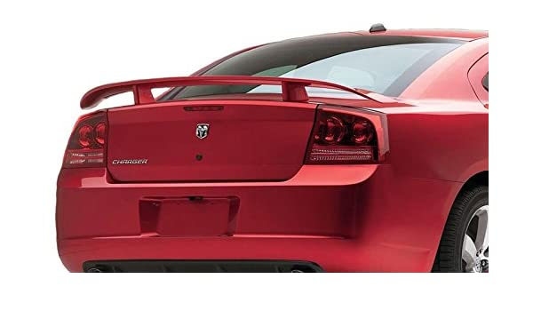 2015-18 Dodge Charger Factory Style Hellcat Spoiler Painted California Dream Compatible With BRILLIANT BLACK PEARL PXR