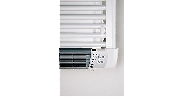 De Longhi 0SD1OL0010755S5 Aurelia Toallero Termoventilador Eléctrico, con Derecho Calefactor Integrado, Acero, Color Blanco: Amazon.es: Bricolaje y ...
