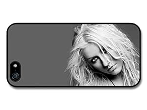 AMAF ? Accessories Christina Aguilera Black and White Necklace Portrait case for iPhone 6 4.7
