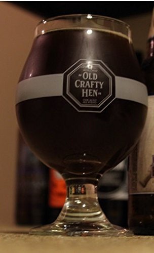 Old Crafty Hen English Strong Ale by Morland Brewery Old Speckled Hen 25cl Beer Chalice -