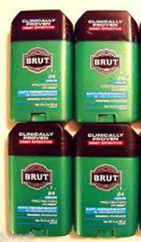 Brut Mens 24 hr Anti-Perspirant/Deodorant Solid Classic Scent 2oz-4 (Classic Anti Perspirant Deodorant)