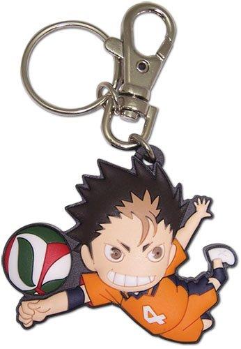 Great Eastern Entertainment Haikyuu Nishinoya PVC Keychain