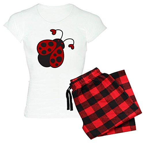 CafePress Ladybug Pajamas Comfortable Sleepwear
