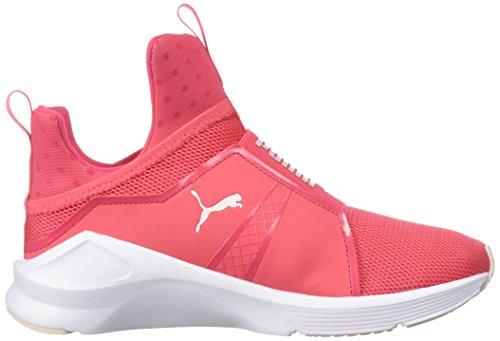 Femme Paradise Fierce White Pink Fitness Puma puma Chaussures Core De XxFZfY