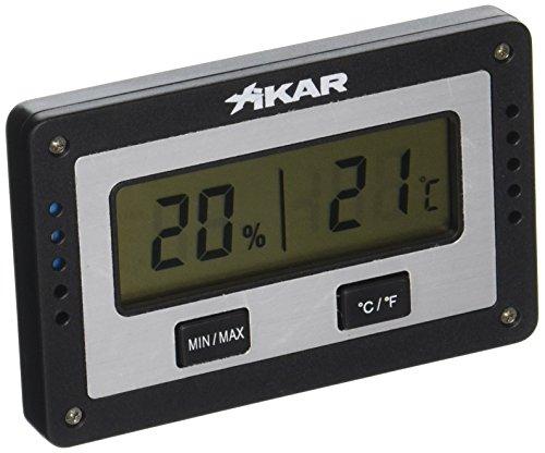 XIKAR PuroTemp Digital Hygrometer Rectangular