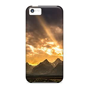 New Arrival Cases Covers With BKq49179XxRu Design For Iphone 5c- The Great Gr Tetons In Wyoming