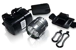 SBSeries Extreme Performance LED Bike Light System: SB1600 SB2600 SB3000 (1600-3000 Lumens) High Capacity 8800mAh ABS Polymer Battery Pack (SB1600)