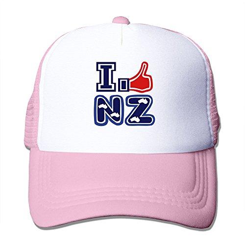 QSOWN I Like NZ I Like New Zealand Tattoo Cap Black
