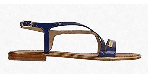 Les Tropéziennes par M. Belarbi Basilic Vernice Blue - Sandali Donna