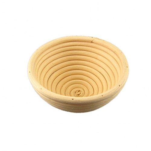 CHENGYIDA 10PCS 5''(13cm) Small Round Rattan Banneton Brotform Bread Proofing Proving Basket by CHENGYIDA